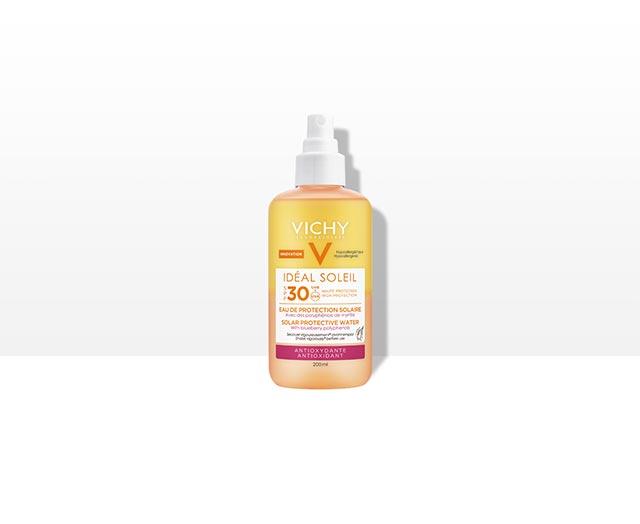 Agua Solar Protectora SPF 30 - Antioxidante