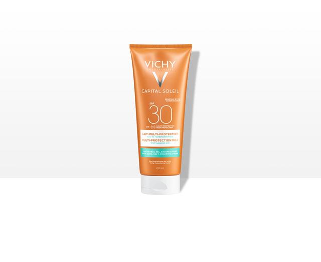 Beach Protect - Leche solar multiprotección - SPF 30