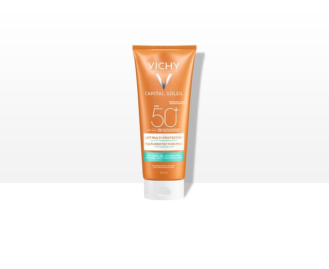 Beach Protect - Leche solar multiprotección - SPF 50+