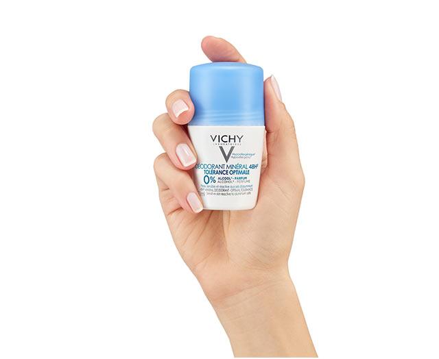 Desodorante Roll-On Mineral Tolerancia Óptima 48H