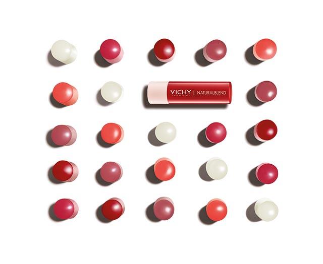 Bálsamos labiales con color