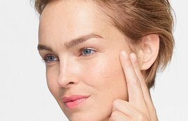Disimular las cicatrices en la cara