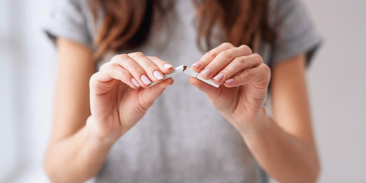 El tabaco, enemigo de la piel