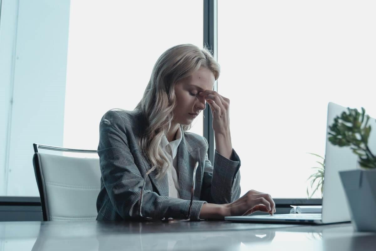 Caída pelo estrés